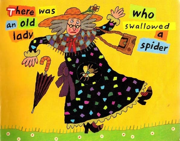 There Was an Old Lady Who Swallowed a Fly吞下苍蝇的老奶奶