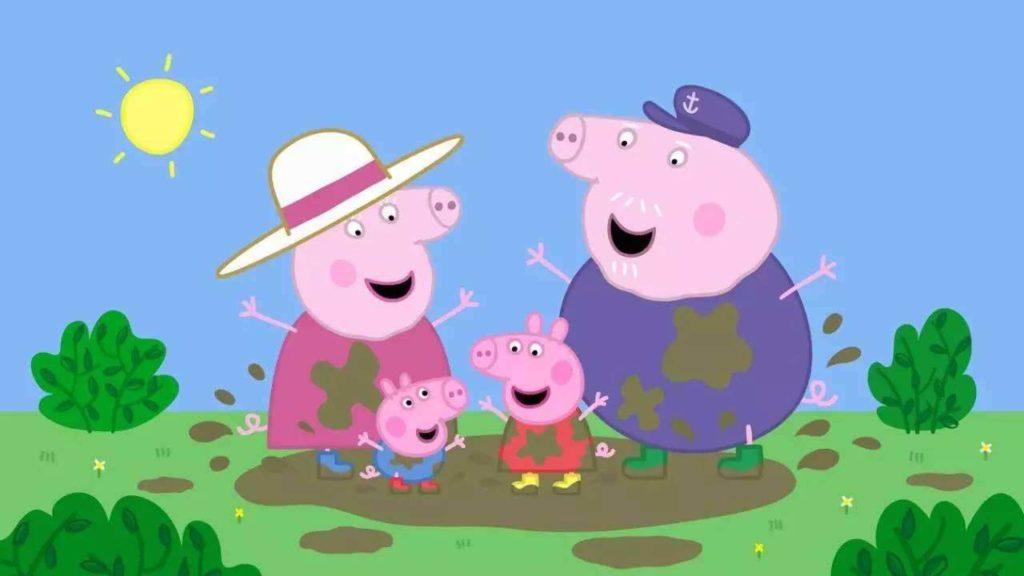 粉红猪小妹(小猪佩奇)Peppa Pig(Nick JR系列)英文版中文版