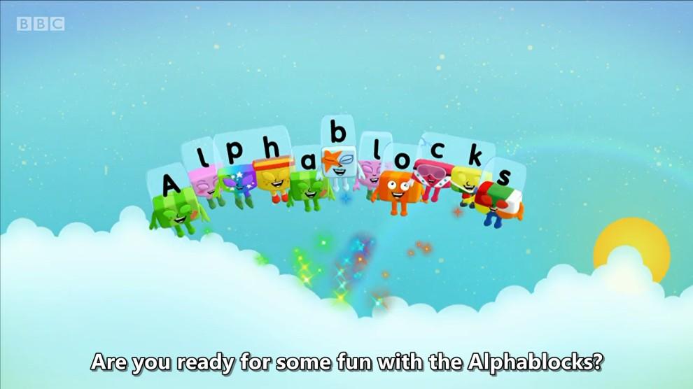 BBC英文动画 字母积木 Alphablocks 全4季91集 自然拼读 Phonics