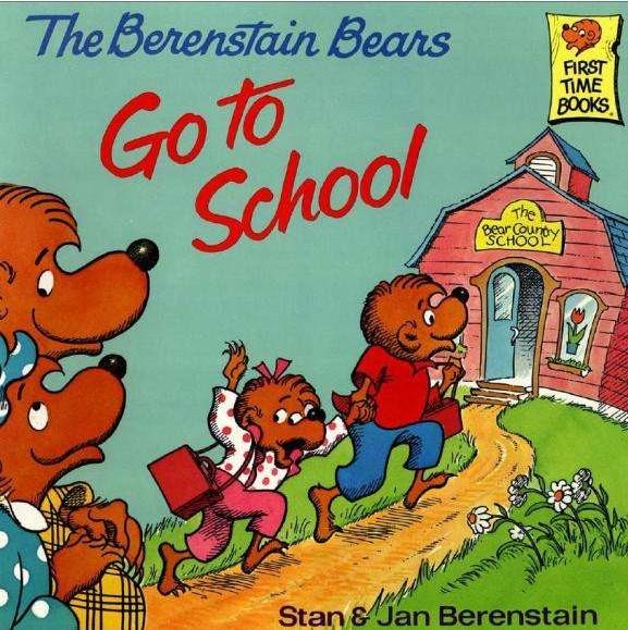 The Berenstain Bears 贝贝熊英文绘本72本(PDF)