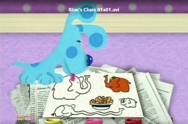 蓝色斑点狗 Blue Clues 第1-6季(缺4)101集