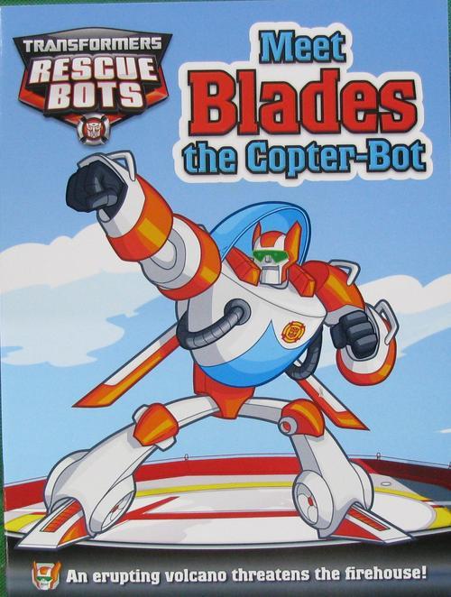 火线救援队 Rescue Bots 英文版