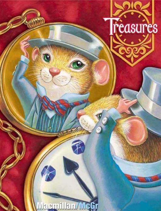 美国加州旧版 Treasures(幼儿园、小学1-6年级 语文 科学 数学教材)--可点读版