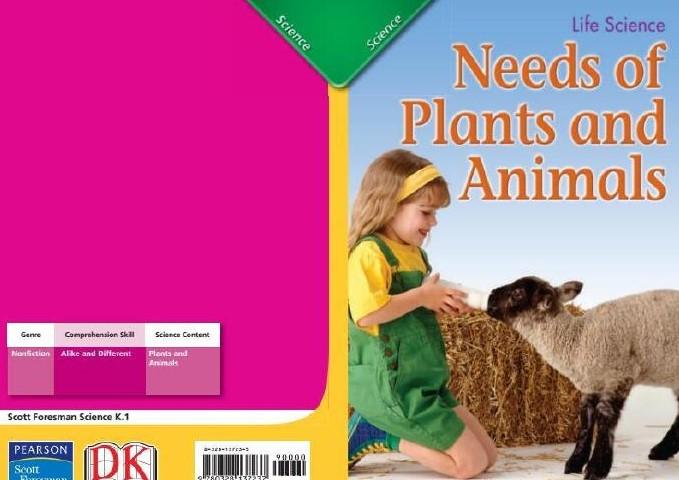 美国Scott Foresman(幼儿园、小学1-6年级 科学 社会学 语文教材)--可点读版
