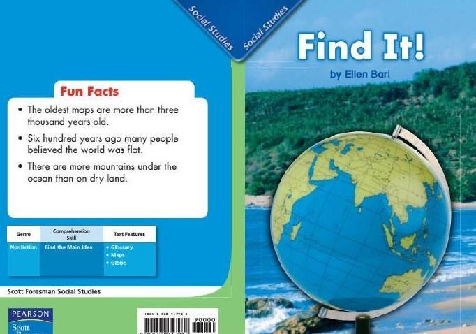 美国Scott Foresman(幼儿园、小学1-6年级 科学 社会学 语文教材)–可点读版