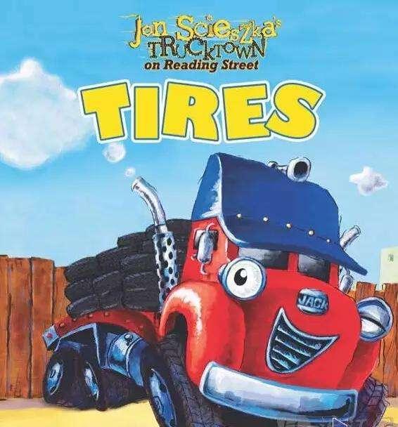 Trucktown 汽车镇的故事36册(PDF+MP3,可点读版)