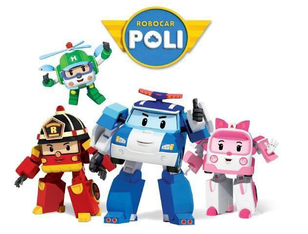 变形警车珀利 Robocar Poli 第1、2季共52集 英文版