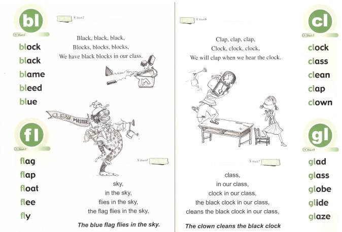 英语拼读小高手Super Phonics全套【1-3级】音频 教材 练习册