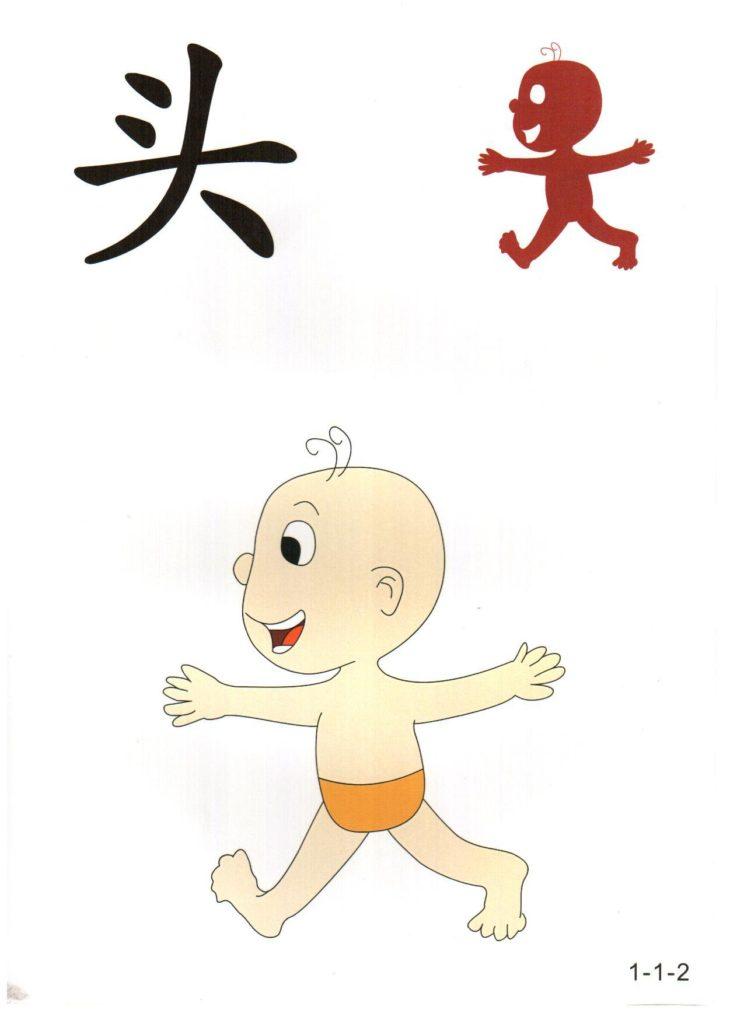 幼小衔接识字图卡入学儿童简单识字