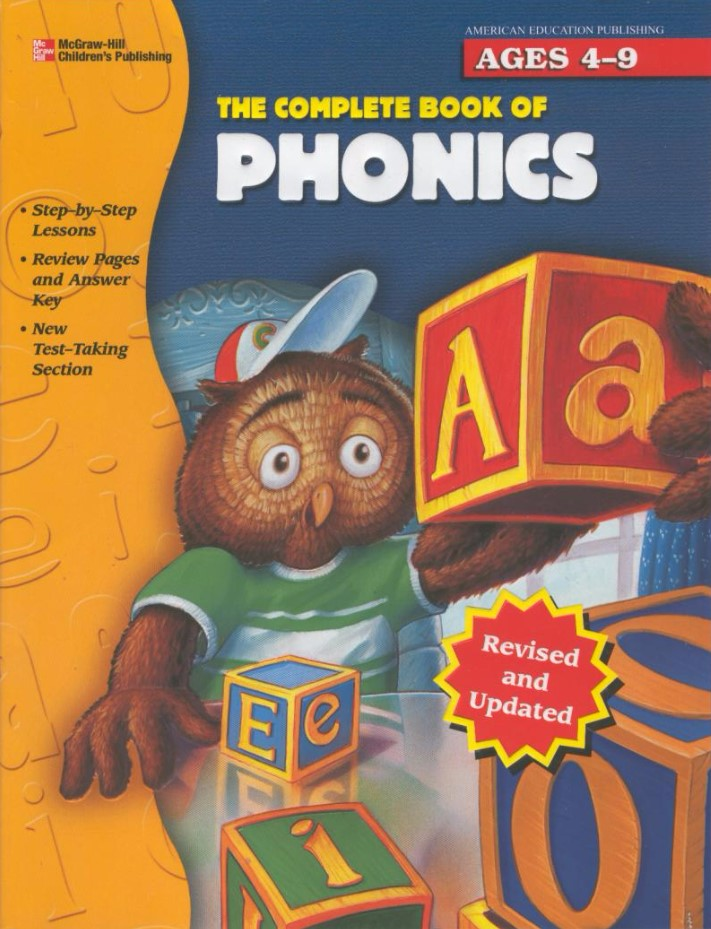 美国英语最畅销的自然拼读教材 The Complete Book of Phonics