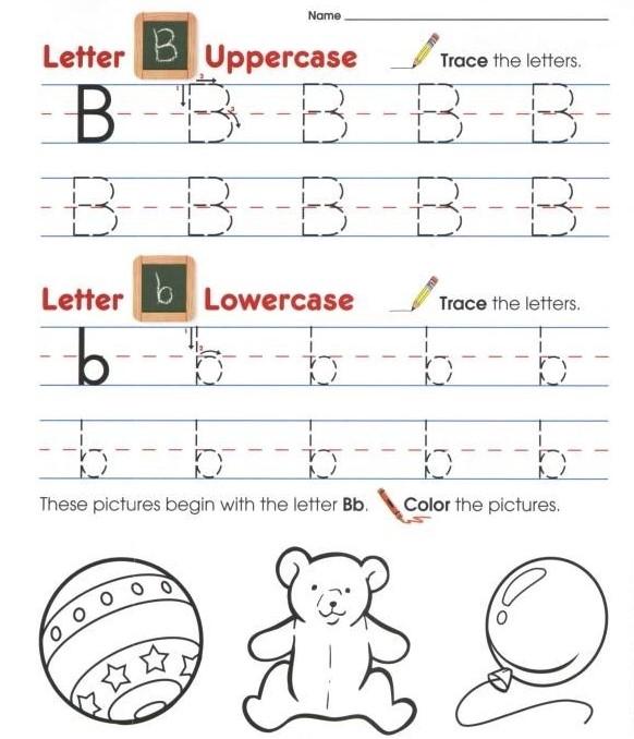 幼儿字母和数字英文教材The Complete Book of Alphabet & Numbers PDF