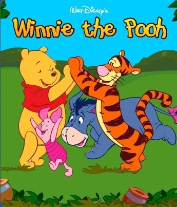 小熊维尼和跳跳虎 Tigger and Poohw