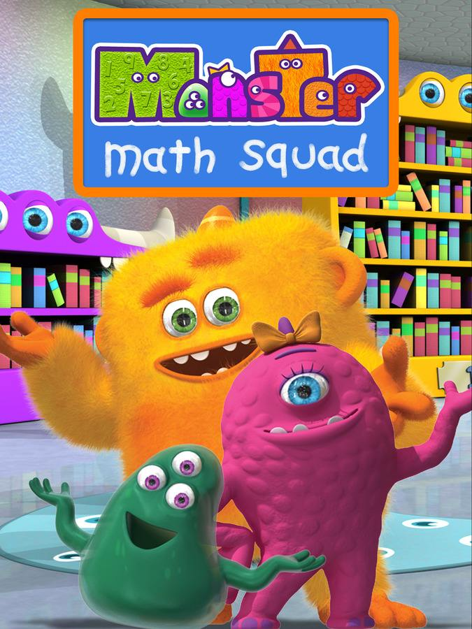 数学启蒙动画怪物数学小分队 Monster math Squad!