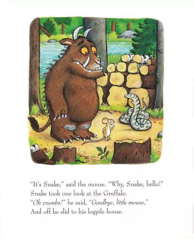 The Gruffaloa nd the Gruffalos child咕噜牛和孩子们(PDF MP3)