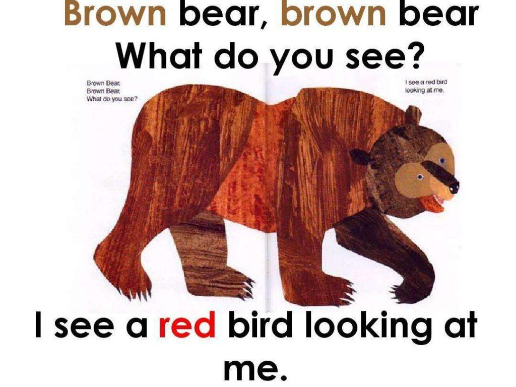 Brown Bear,Brown Bear,What Do You See棕熊,棕熊,你在看什么