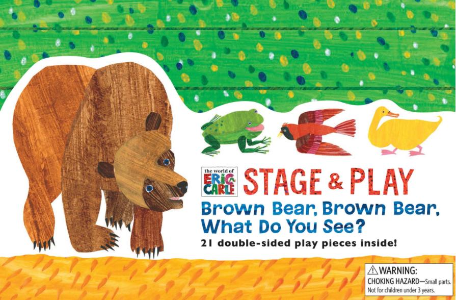 Brown Bear,Brown Bear,What Do You See棕熊,棕熊,你在看什么?(PDF+MP3+视频)