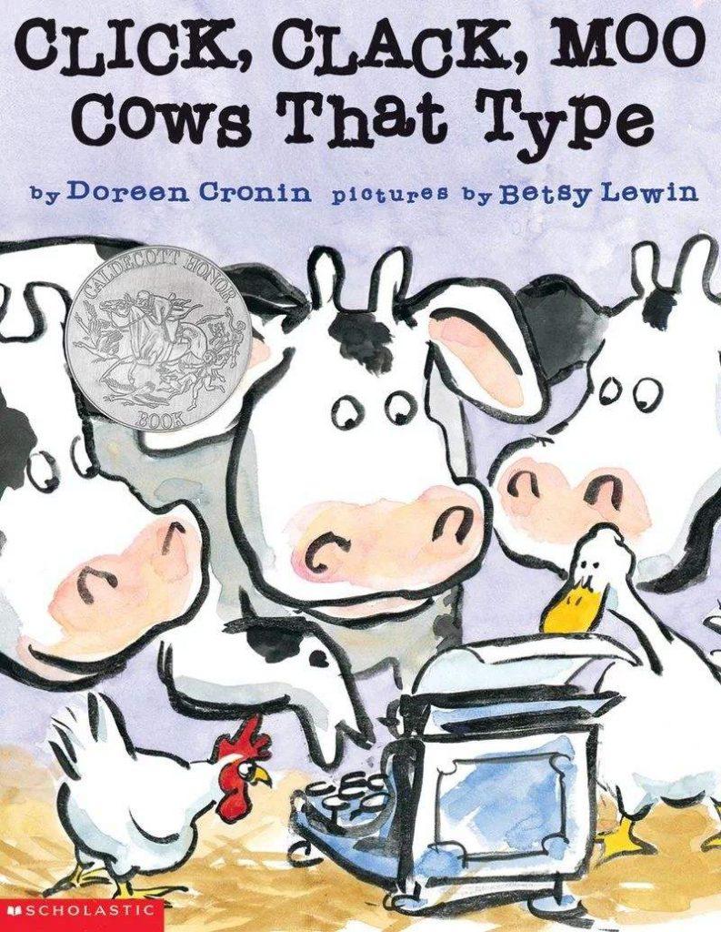 Click Clack Moo Cows That Type会打字的牛(PDF+MP3+视频)