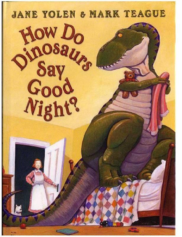 How Do Dinosaurs Say Good Night?恐龙怎么说晚安(PDF+MP3+视频)