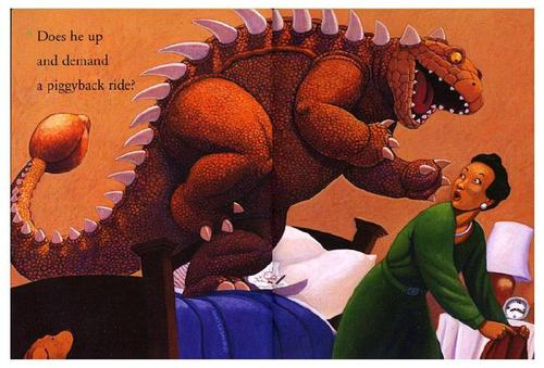 How Do Dinosaurs Say Good Night恐龙怎么说晚安(PDF MP3 视频)