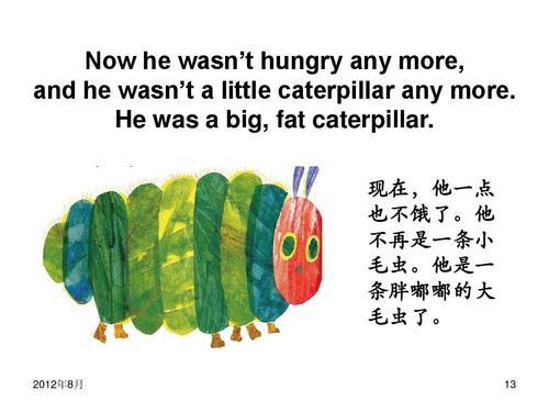 The Very Hungry Caterpillar好饿好饿的毛毛虫
