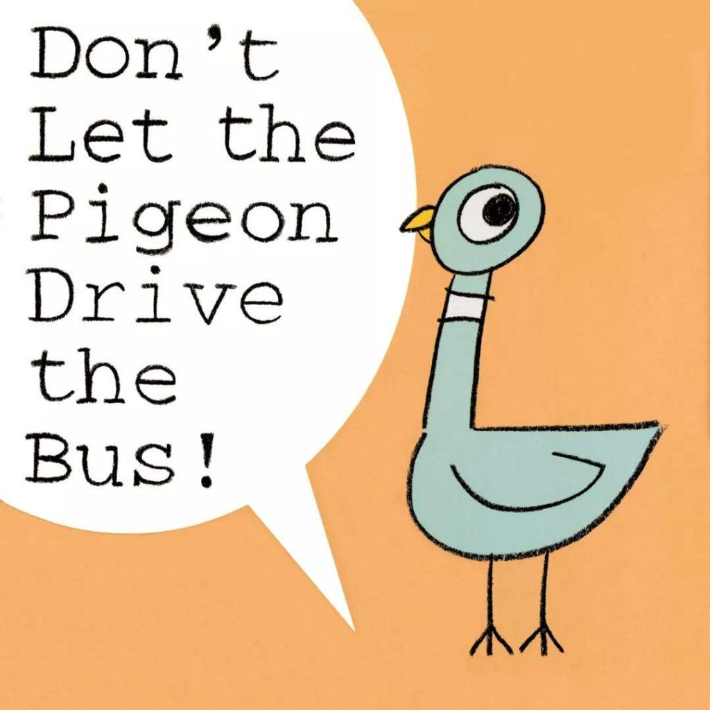 Dont Let the Pigeon Drive the Bus!别让鸽子开公交(PDF MP3 视频)