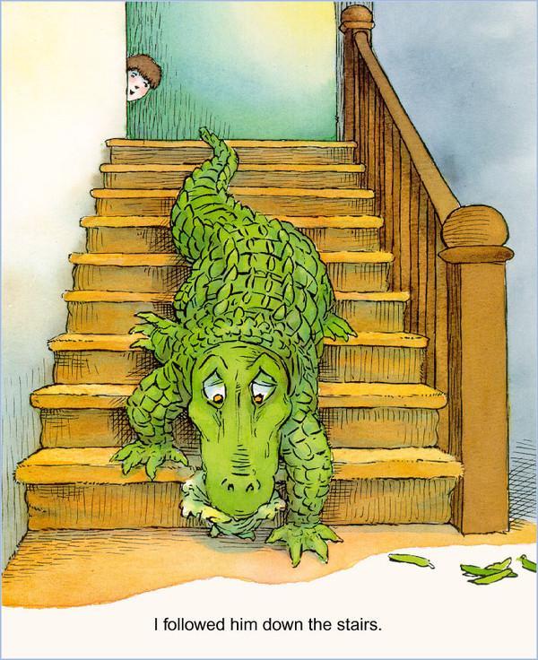 Theres an alligator under my bed有一条鳄鱼在我的床底下(PDF MP3)