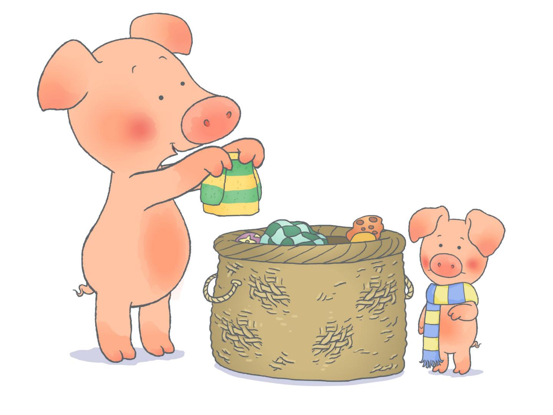 威比猪 Wibbly Pig(BBC系列)英文 中文版