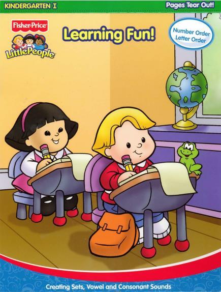 英国原版幼儿园教材Fun to Learn