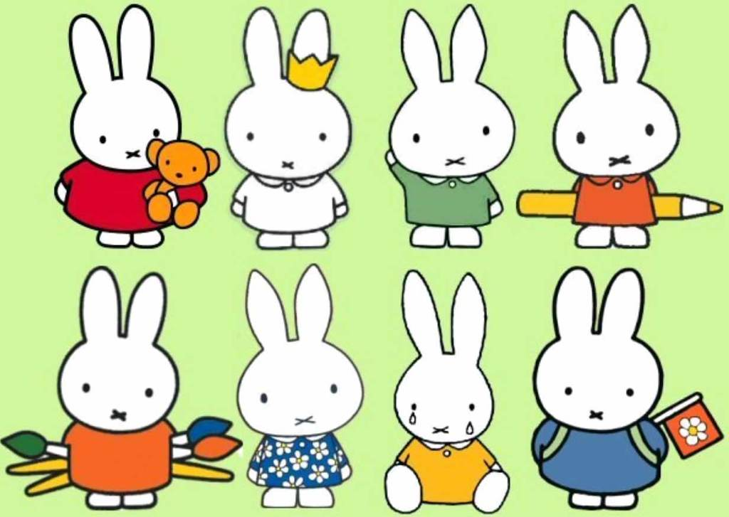 米菲miffy动画片