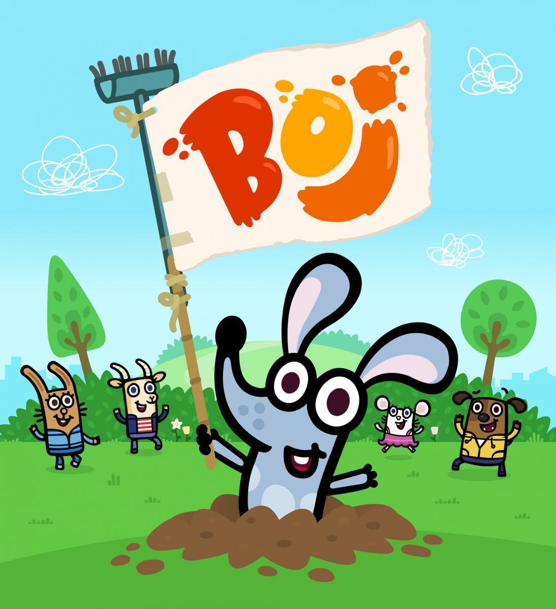 兔耳狸波伊 Boj动画