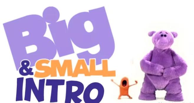 BBC英文动画片《大与小》Big and Small