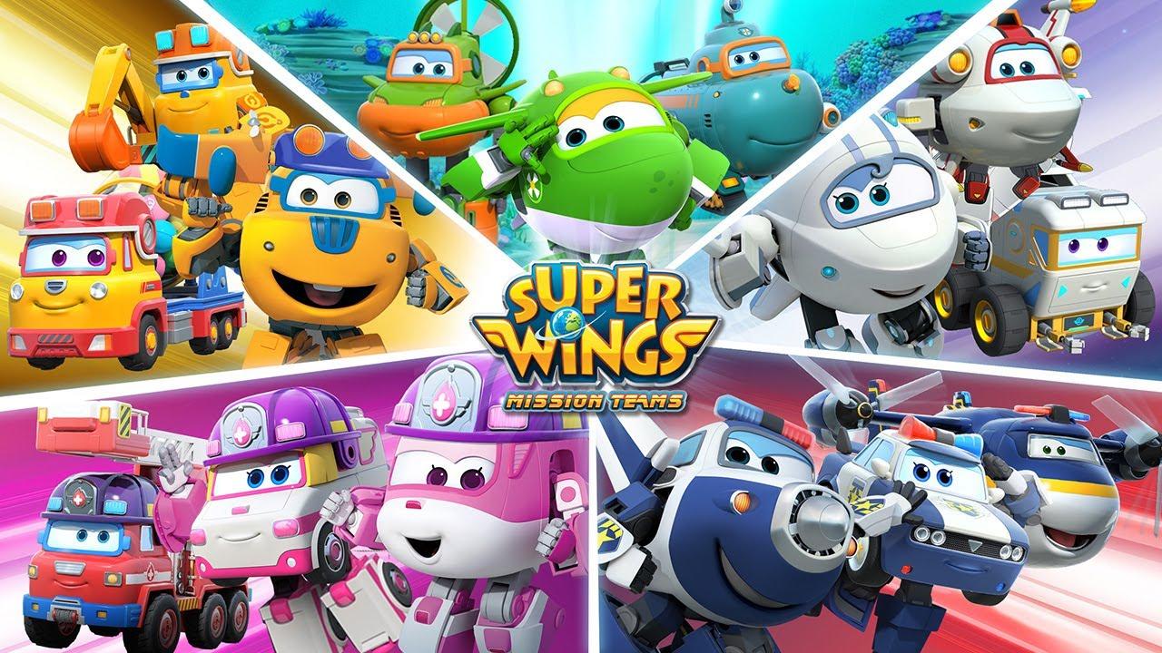 超级飞侠 Super Wings英文版