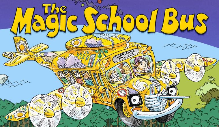 《神奇校车 The Magic School Bus》英文版1-4季
