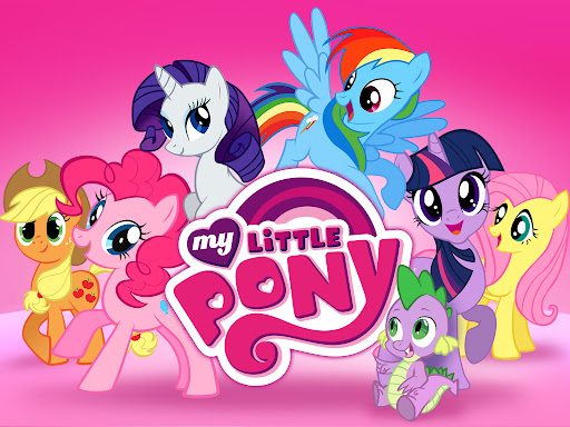小马宝莉(小马驹)My Little Pony中英文动画片